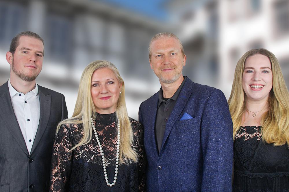 Gruppenbild von Familie Krüger